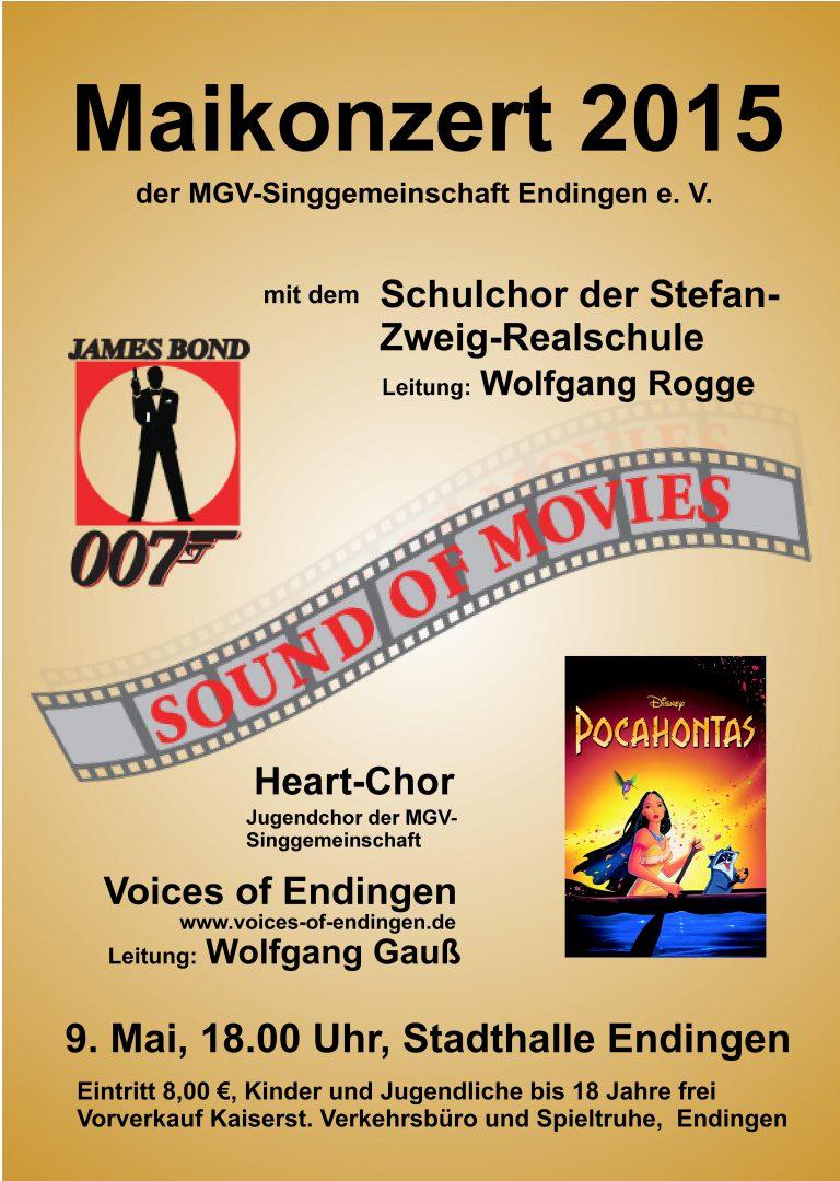 Sound of Movies, mit dem Schulchor der Stefan-Zweig-Realschule und dem Heartchor, 09. Mai 2015