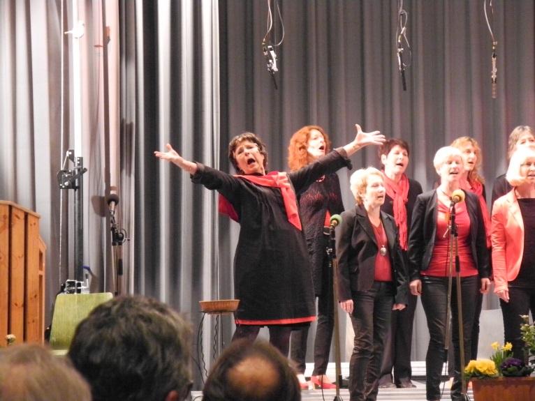 Cantiamo aus Bischoffingen, Sopran, viel Einsatz