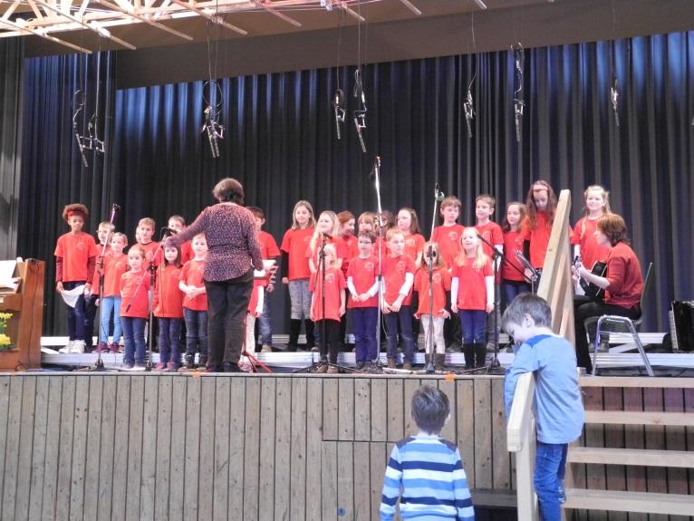 Chor der Maria Sibylla Merian Grundschule